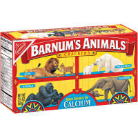 Even the vegans eat these... though they probably have a problem with the circus packaging.
