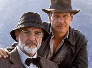 Does that make Indiana Jones my brother? Wait does that also make me related to Han Solo? Am I a Jedi?